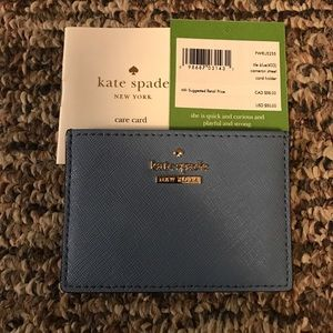 Kate Spade card case!